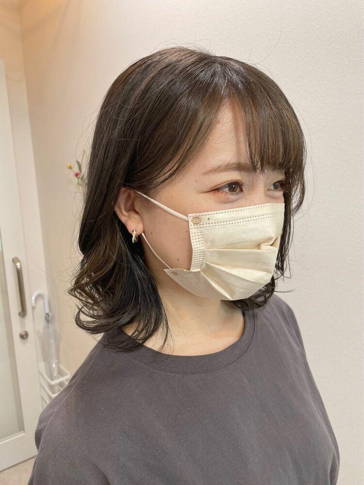 【GoofyTokyo銀座】インナーカラー/ナチュラルフェイスフレーミング/渋谷トモヒロ