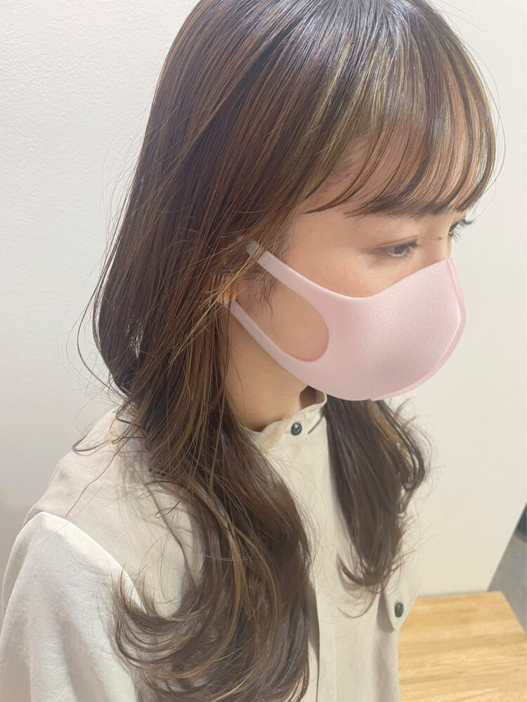【GoofyTokyo銀座/渋谷トモヒロ】インナーカラー/フェイスフレーミング/ミストバング