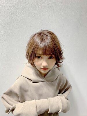 ☆ゆるふわエアリーショートボブ☆