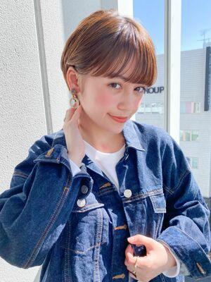 GARDEN 塩見勇 ショート マッシュバング ショートヘア
