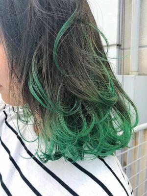 ワンパンマン 戦慄のタツマキ 裾カラーグリーン