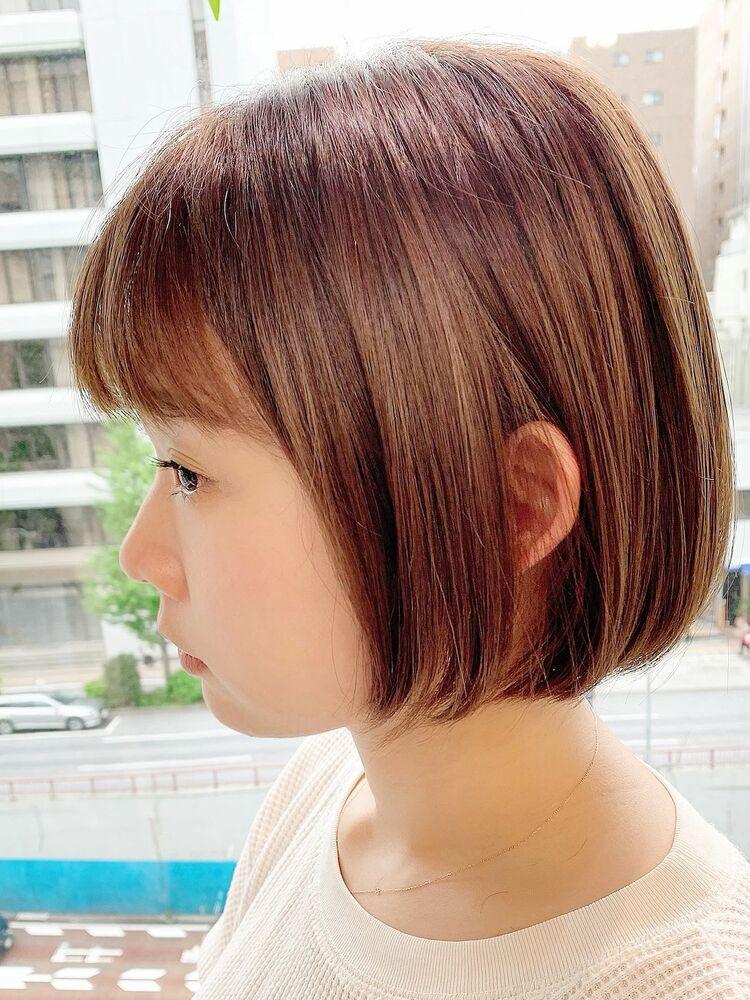 表参道/VIE/涼佳◎カットが上手い◎横顔美人ミニボブ