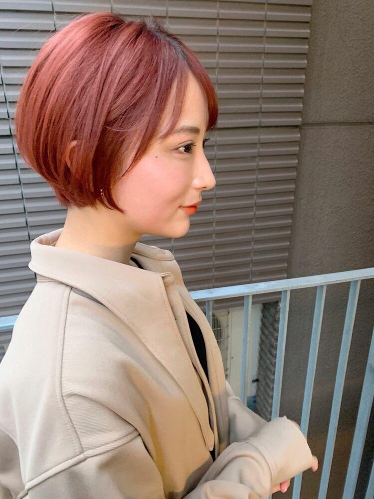 銀座/VIE/涼佳◎カットが上手い◎横顔美人なショートヘア
