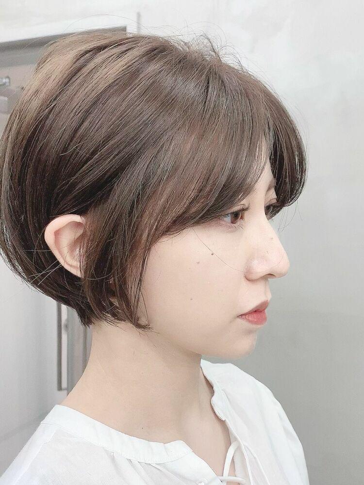表参道/VIE/涼佳◎カットが上手い◎女性らしいショートカット◎