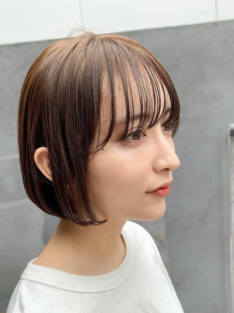 表参道/VIE/涼佳◎カットが上手い◎横顔美人なbob