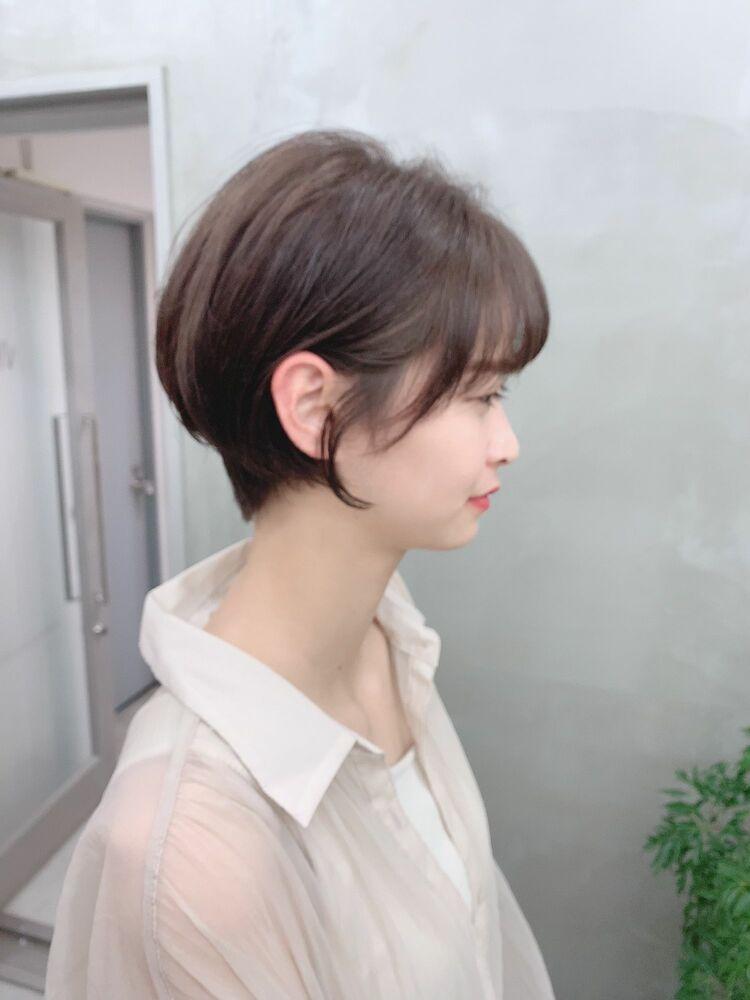 表参道/VIE/涼佳◎カットが上手い◎ひし形ショート◎