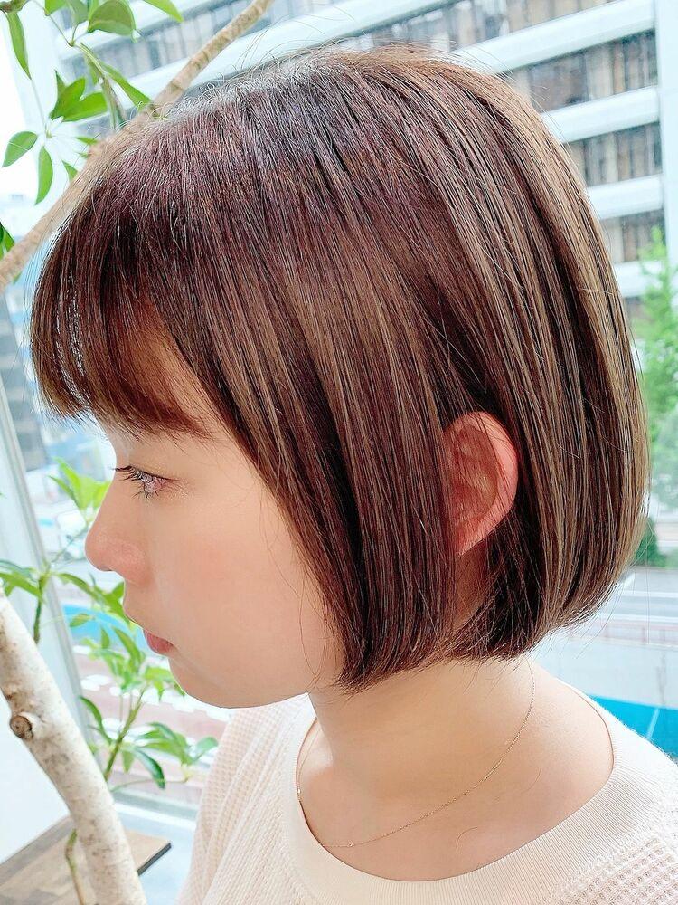 表参道/VIE/涼佳◎カットが上手い◎ミニボブ