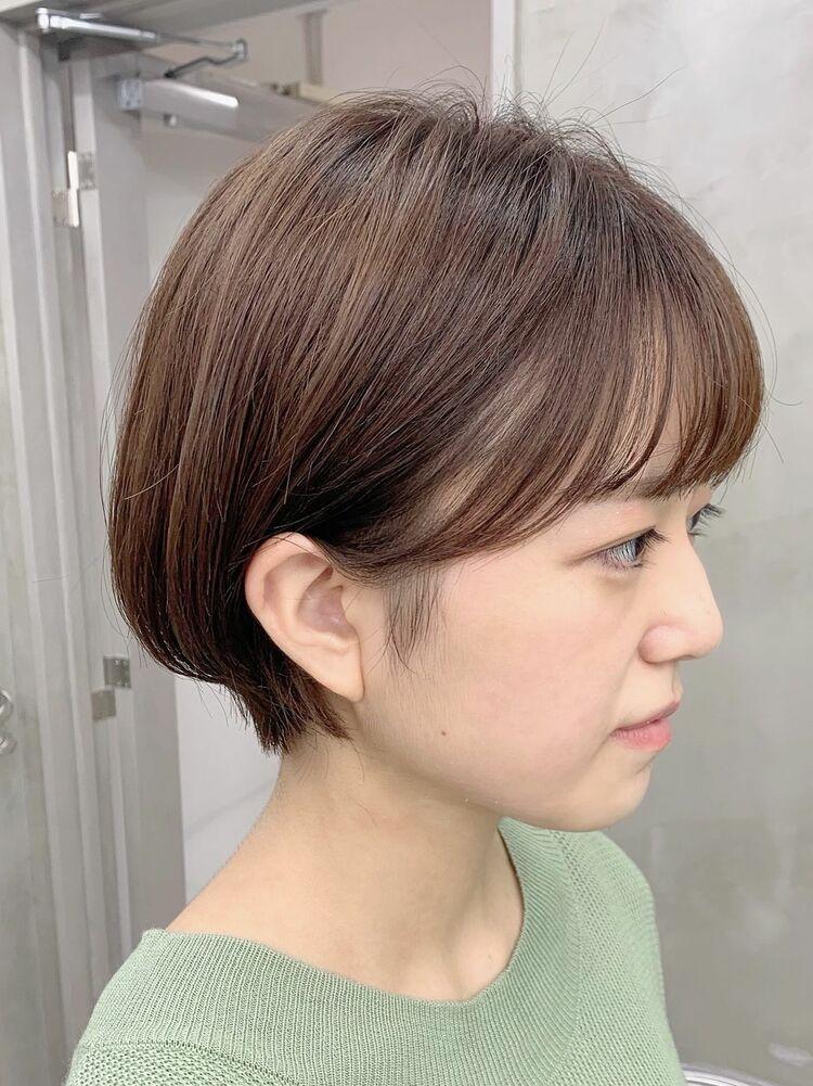 表参道/VIE/涼佳◎カットが上手い◎横顔美人なショートヘア