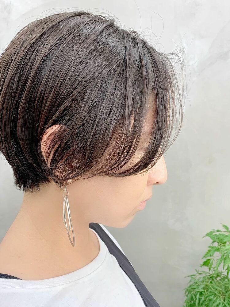 表参道/VIE/涼佳◎カットが上手い◎簡単にスタイリングできるショートヘア◎