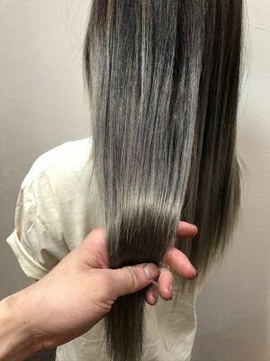 オールシーズン大人気ラベンダーグレージュ🤍💜×資生堂髪質改善トリートメント✨