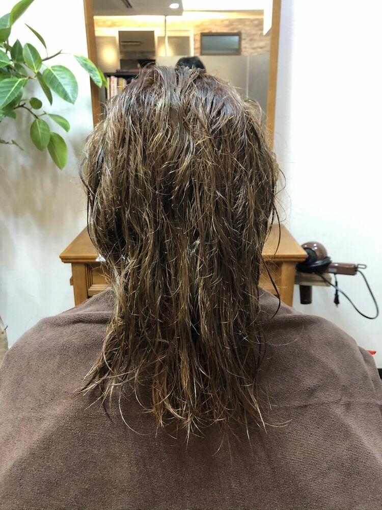 SHISEIDO髪質改善トリートメント×縮毛髪質をブリーチ毛に!?
