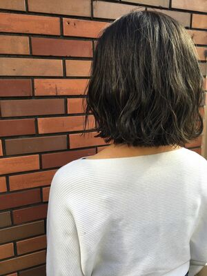 町田駅徒歩5分/肩ハネ×オリーブアッシュ
