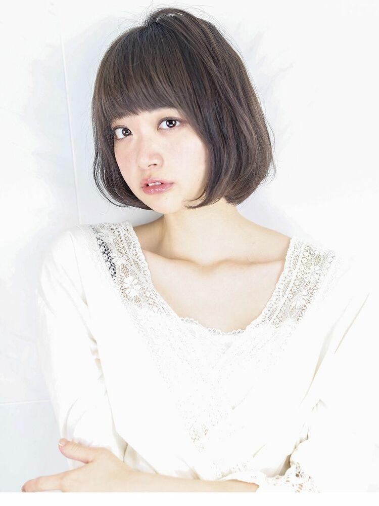 『グレージュ  ×  毛束感 』外国人風ボブスタイル☆