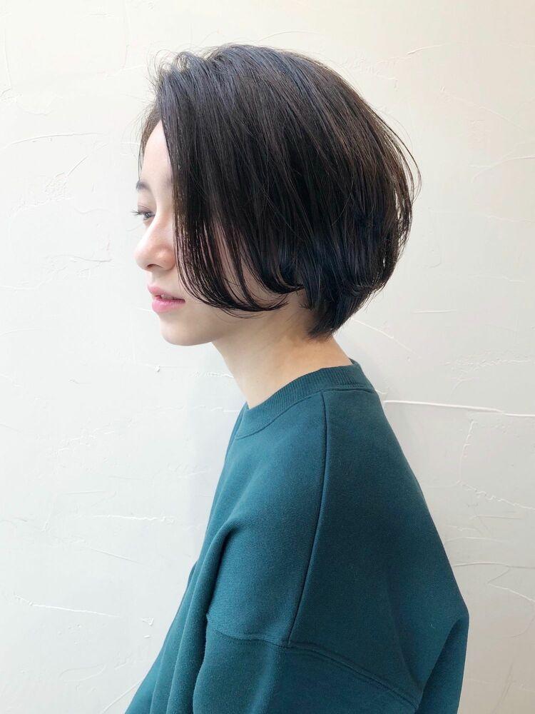 大人カワイイハンサムショートボブ☆