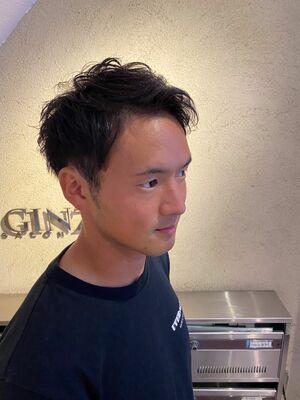 ゆるふわパーマスタイル/ヒロ銀座/銀座/理容室