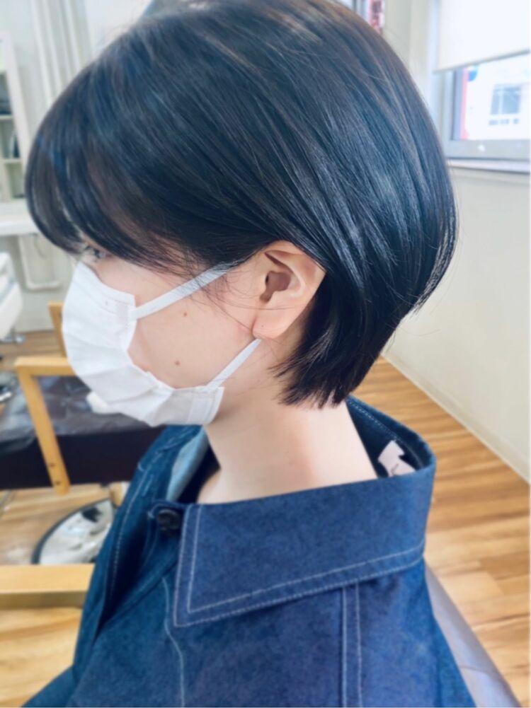 #ヘアカラーカフェ心斎橋店/ショートボブ
