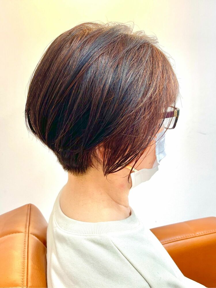 60代〜 ショートグラデーション