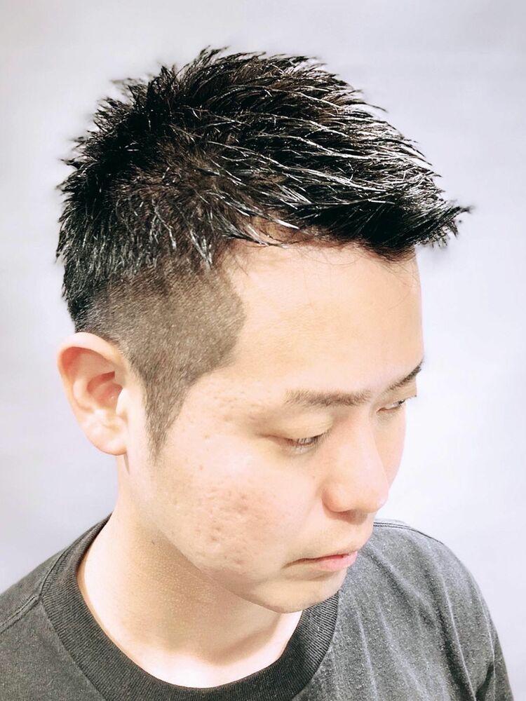 夏にオススメ〜ツーブロックショートスタイル〜