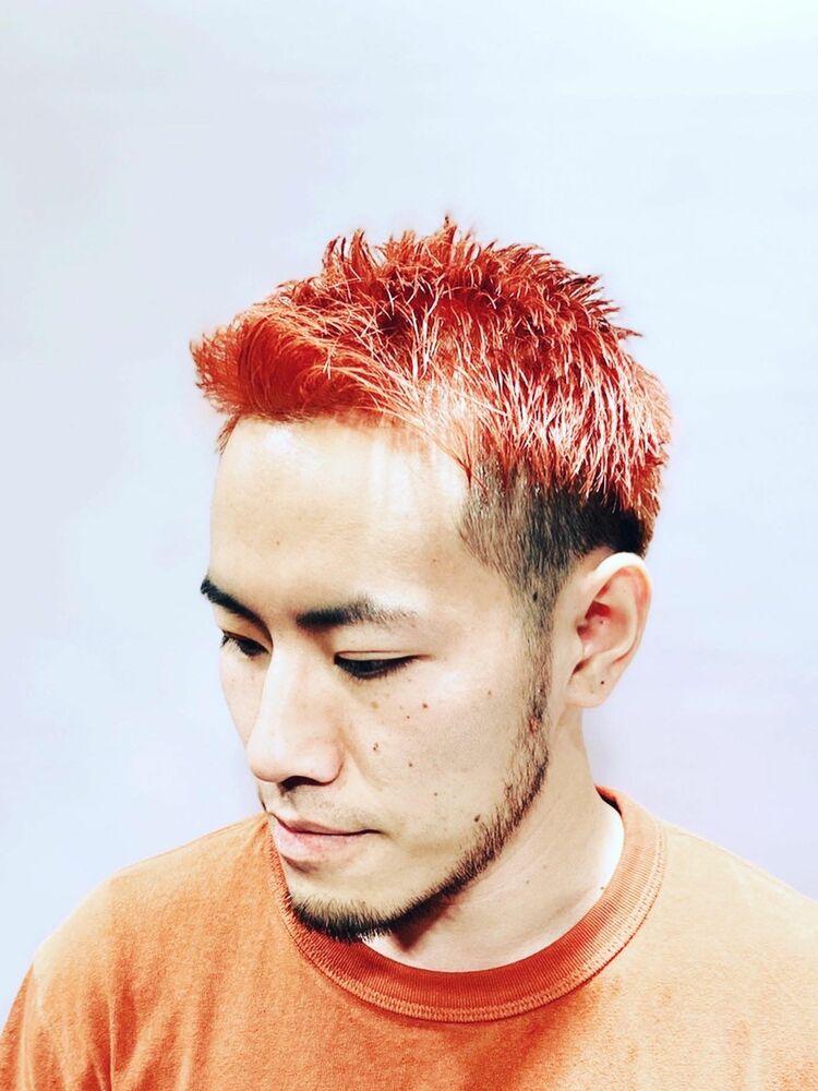 ブリーチカラーSHOKICHI(EXILE)風スタイル🔥