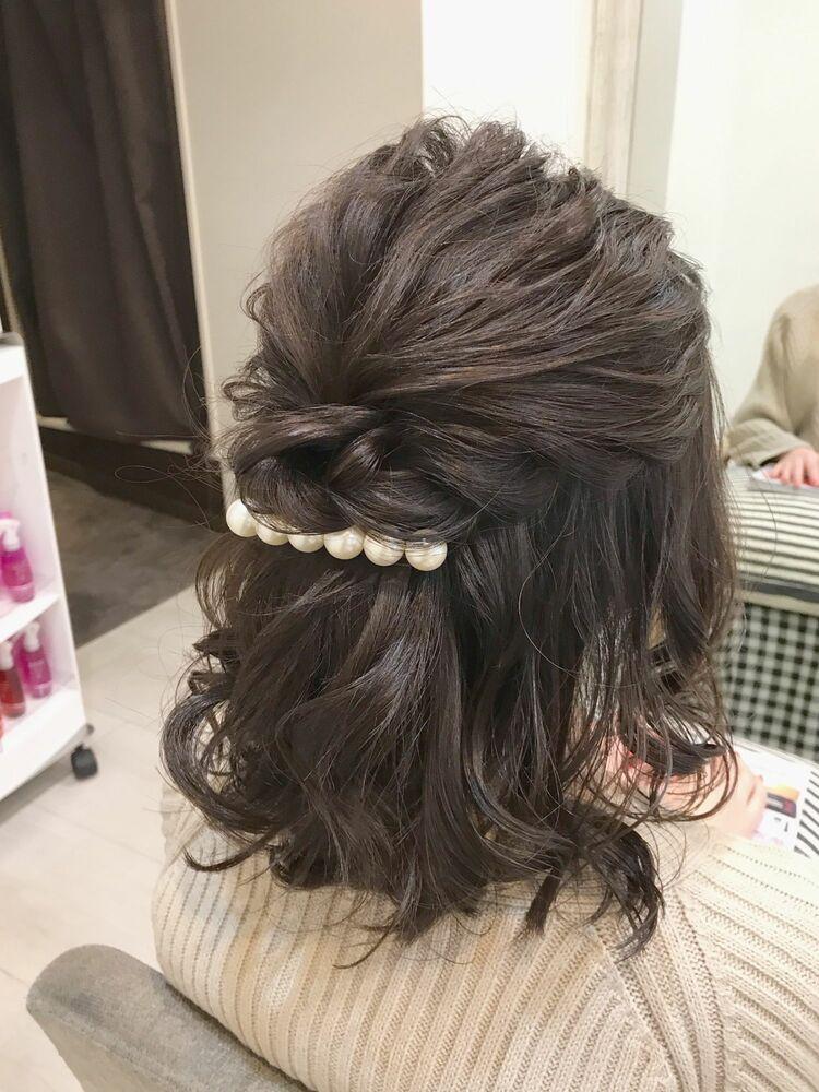 ShellBearヘアアレンジ☆振袖/袴/着物/銀座/東銀座/ヘアセット