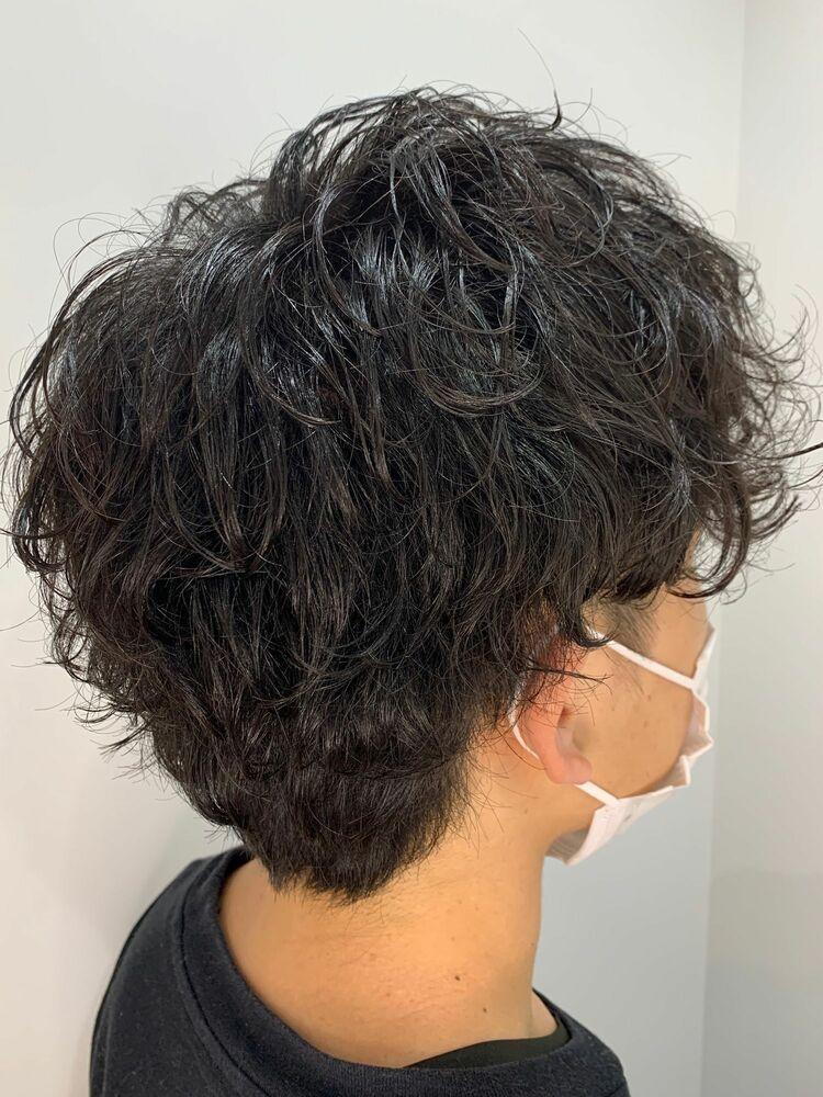 ミディアムヘア×パーマスタイル