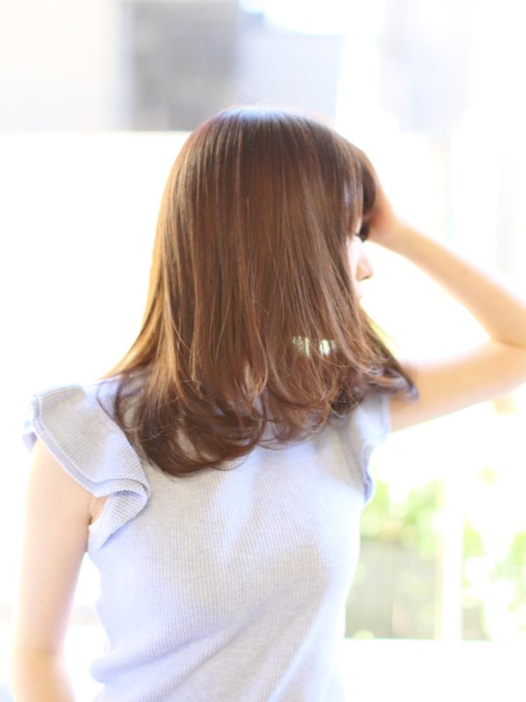 艶髪 モテ髪 シルキーワンカール