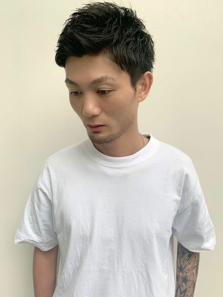 U-REALM新屋 王道☆スパイキーショート