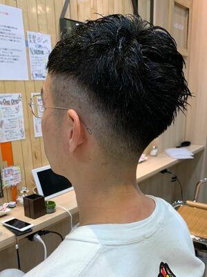 U-REALM新屋 夏にオススメ☆スキンフェードヘア