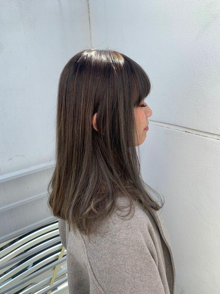 シークレットハイライトセミロングStyleInstagram→@kzoo1120