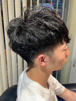 """""""松田翔太さん風ヘア""""お洒落男子"""