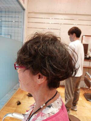 60代グラデーションヘア