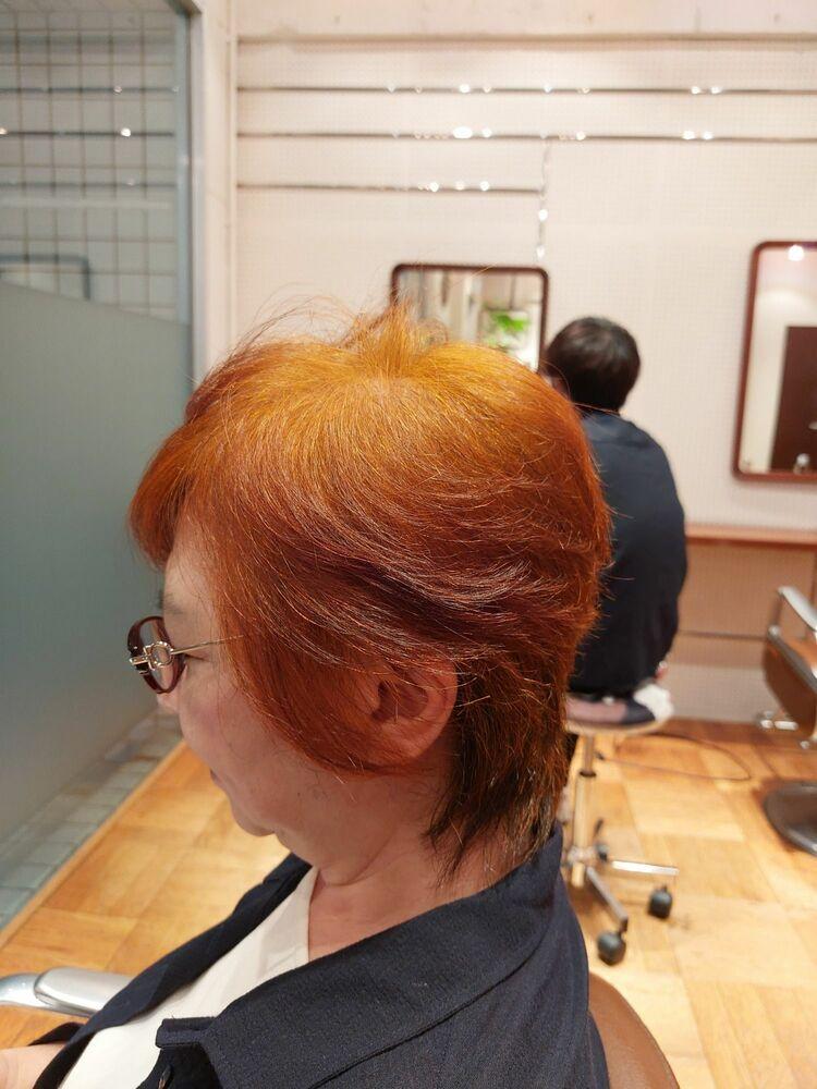 60代ミディアムヘア