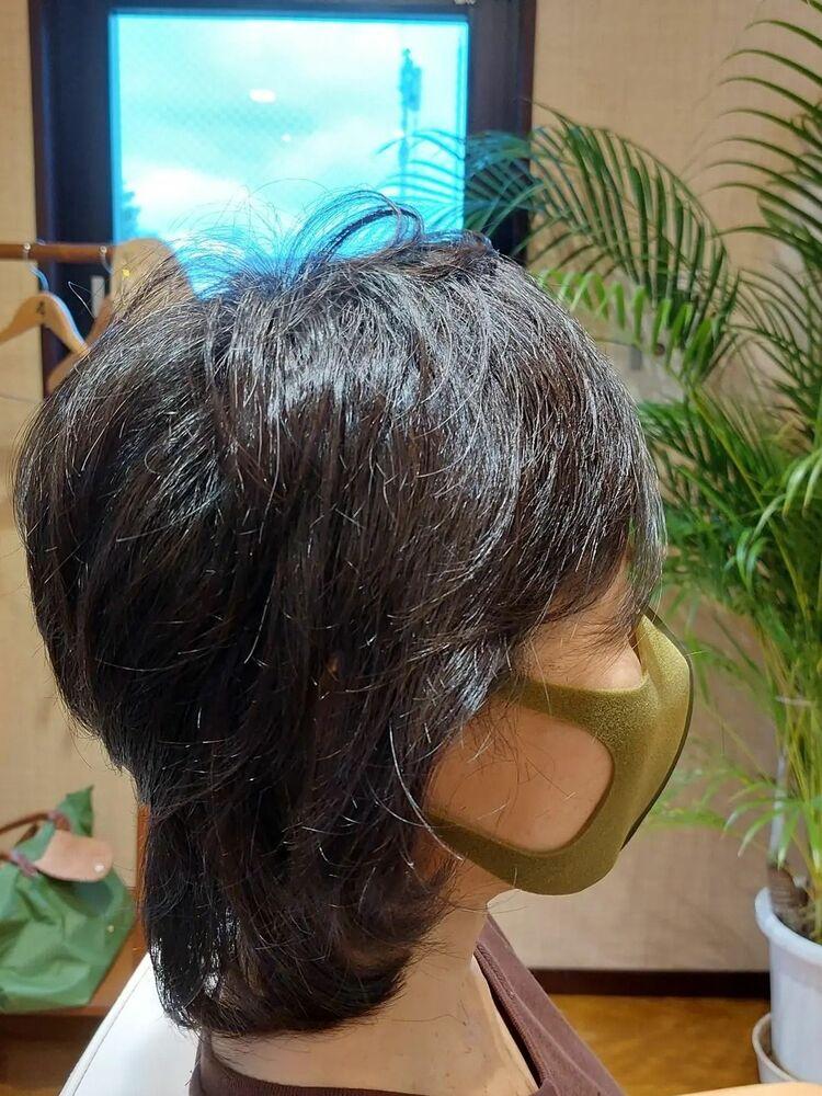 40代50代60代ヘアカタログミディアムヘア