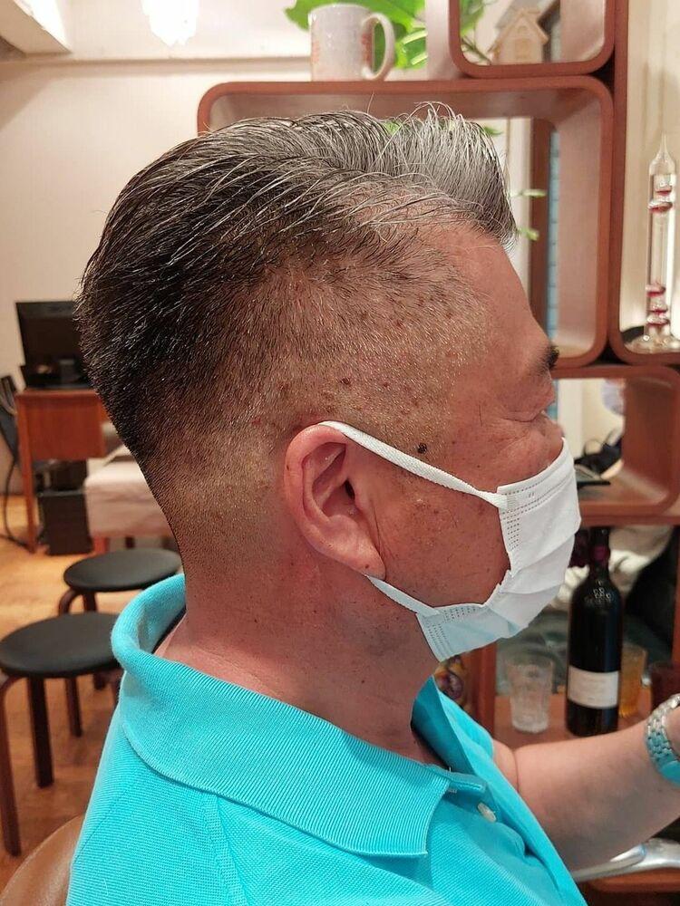 #50代メンズヘアボウズ