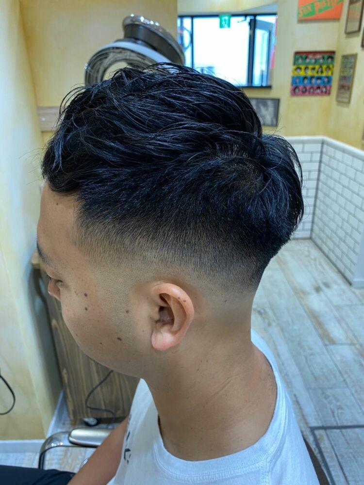 フェードカット 癖毛を活かすクロップ GROOMER/S TOKYO伊藤