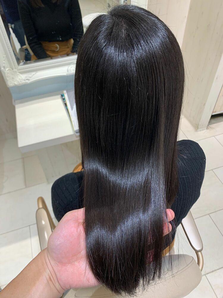 ☆超話題☆髪質改善サイエンスアクアトリートメントで、自分上最高の艶髪へ☆髪質改善システムプラン☆
