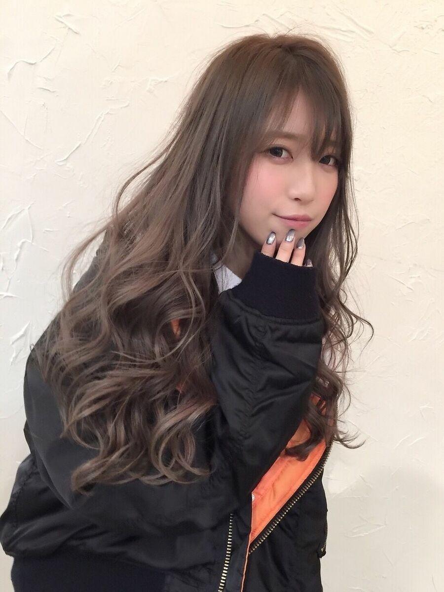 ☆うざシースルーバングレージュ☆