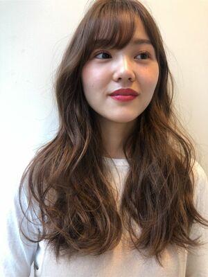 joemi by unami 新宿/手嶋紗耶/切りっぱなし×透明感たっぷりのツヤカラー
