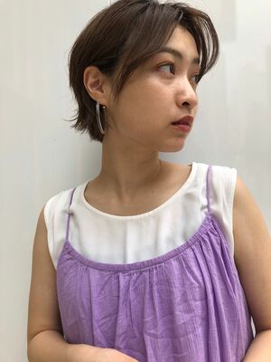 joemi by unami 新宿/手嶋紗耶/ナチュラルショートボブ