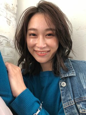 joemi byunami新宿/手嶋紗耶/ぱっと切りっぱなし×レイヤーロブ