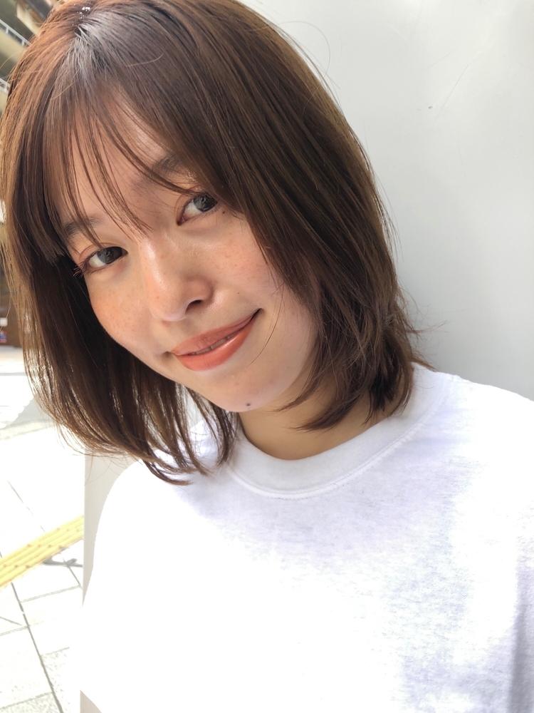 joemi by unami 新宿/手嶋紗耶/乾かすだけで可愛いニュアンスレイヤーボブ