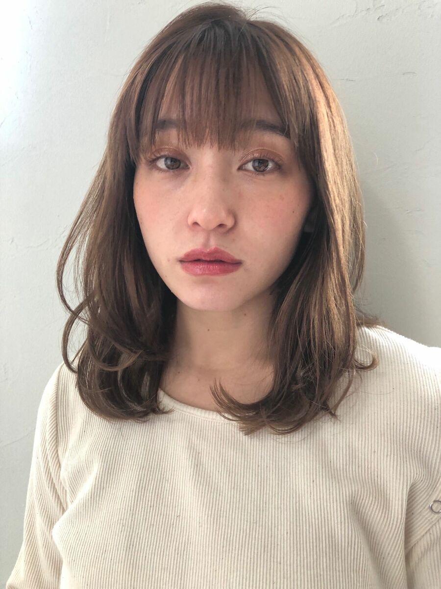 joemi by unami 新宿/手嶋紗耶/小顔効果抜群!ニュアンスレイヤーミディアム