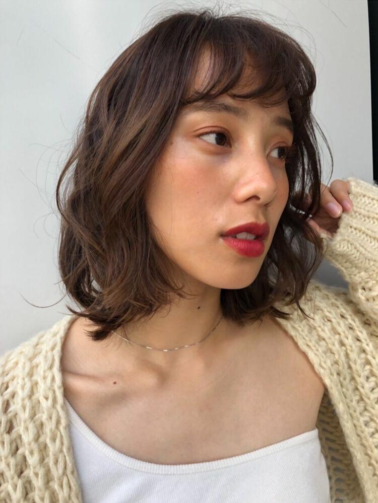 joemi by unami 新宿/手嶋紗耶/トリートメントでかける低温デジタルパーマ