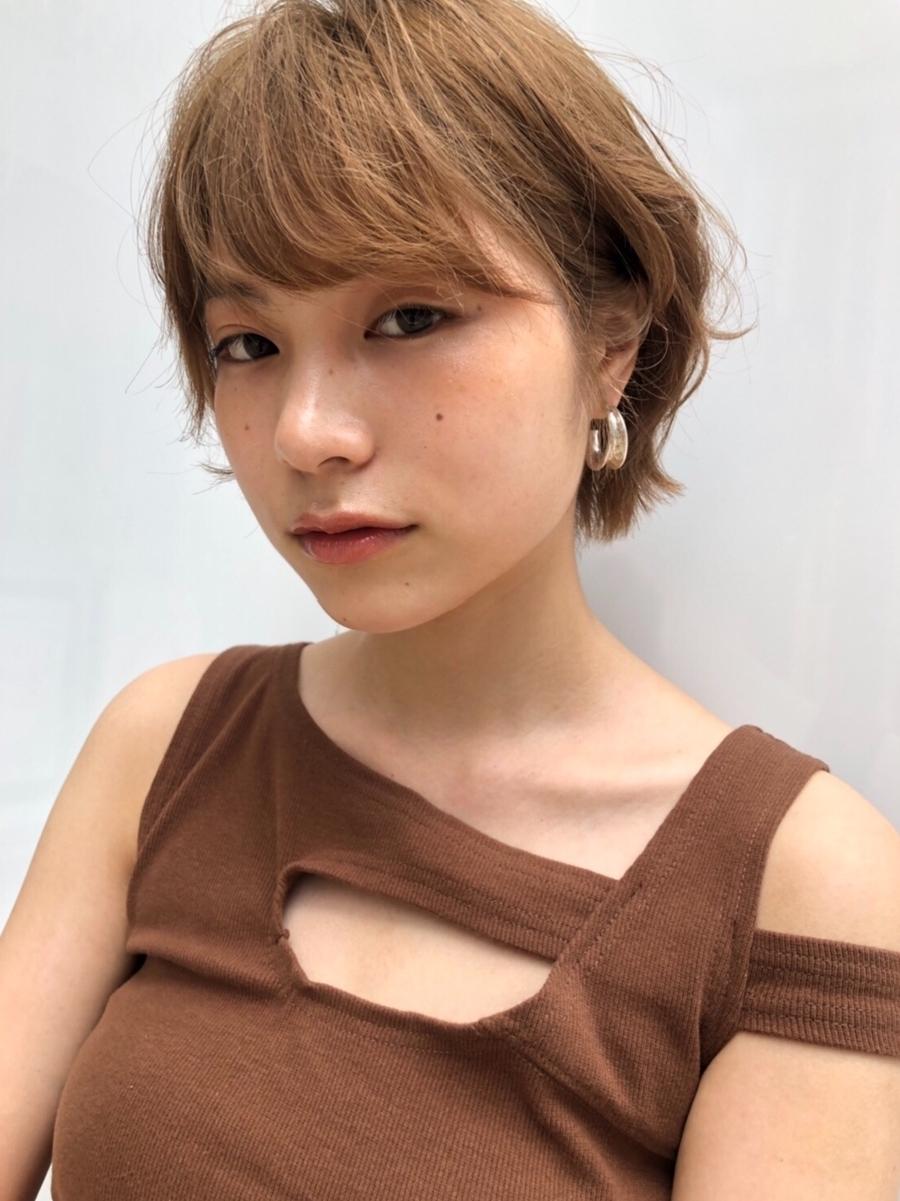 joemi by unami 新宿/手嶋紗耶/乾かすだけでまとまるハンサムショート