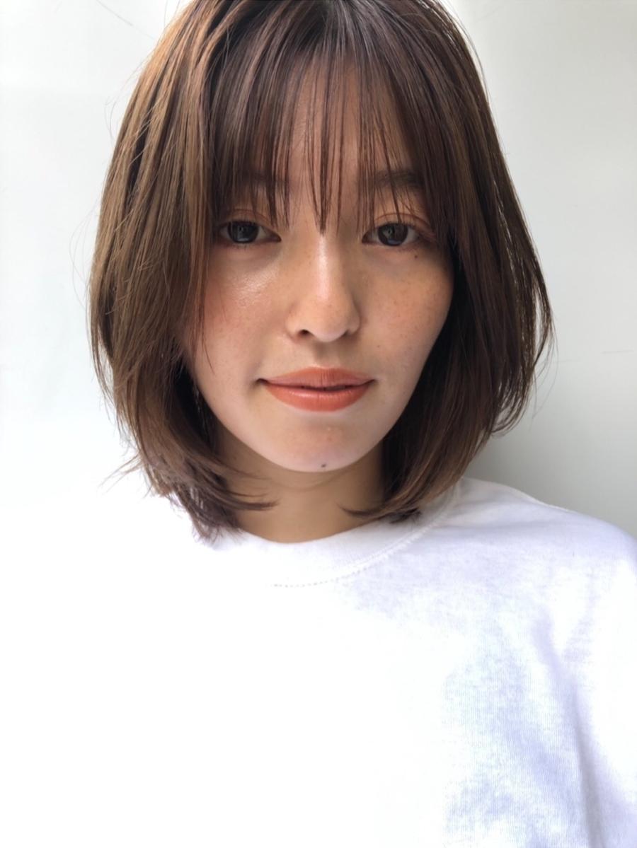 joemi by unami 新宿/手嶋紗耶/乾かすだけで可愛いニュアンスレイヤーミディアム☆