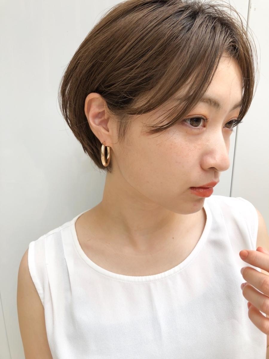 joemi by unami 新宿/手嶋紗耶/小顔効果抜群!スッキリショートボブ☆