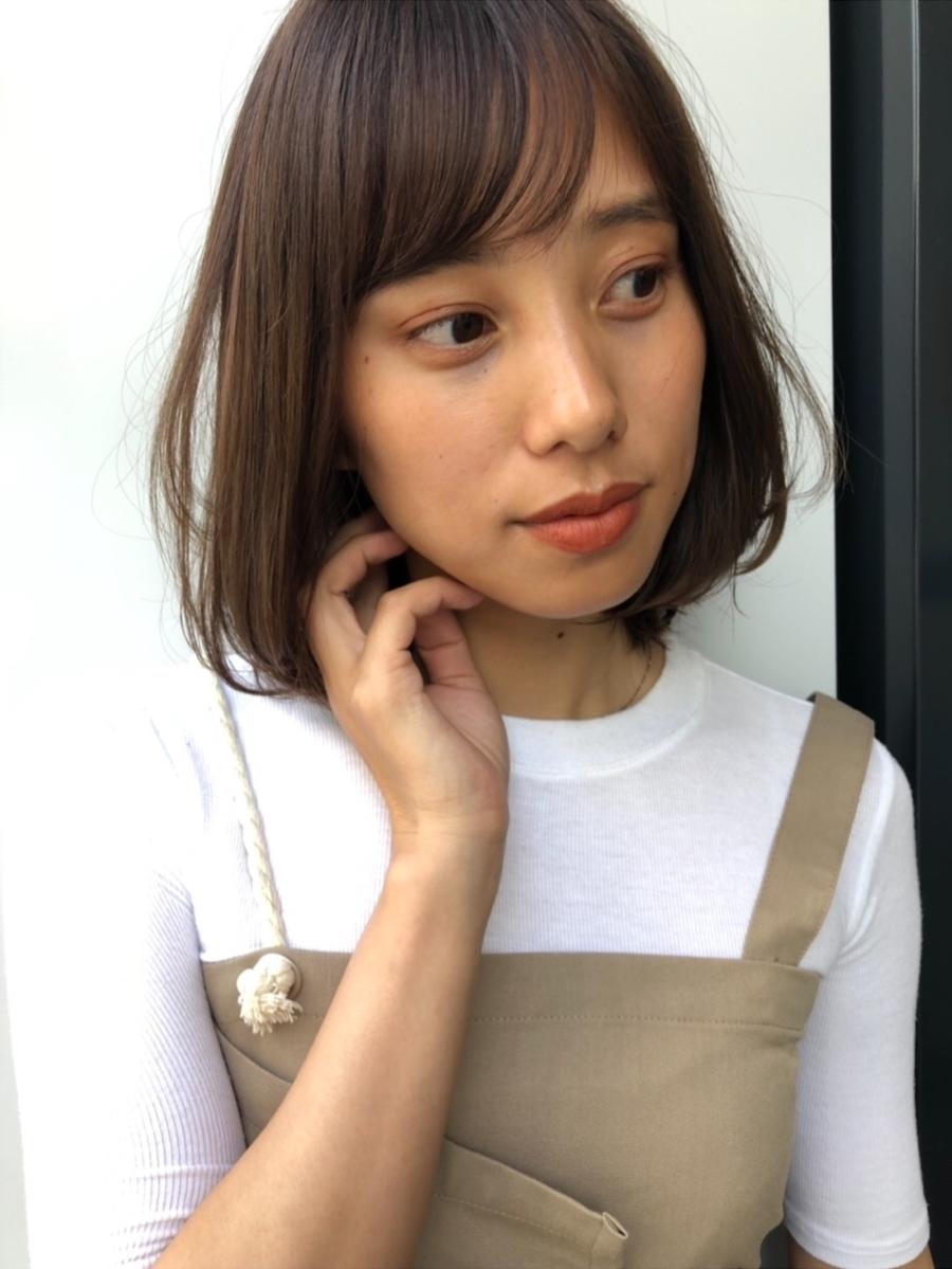 joemi by unami 新宿/手嶋紗耶/乾かすだけで可愛いニュアンスレイヤーボブ☆