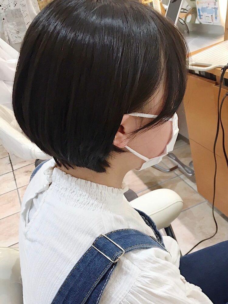 艶髪ショートボブ