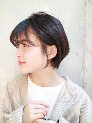 大人かわいいヒシガタショートボブ☆