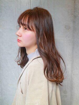 愛されふわセミディセミディ☆小顔デジタルパーマ